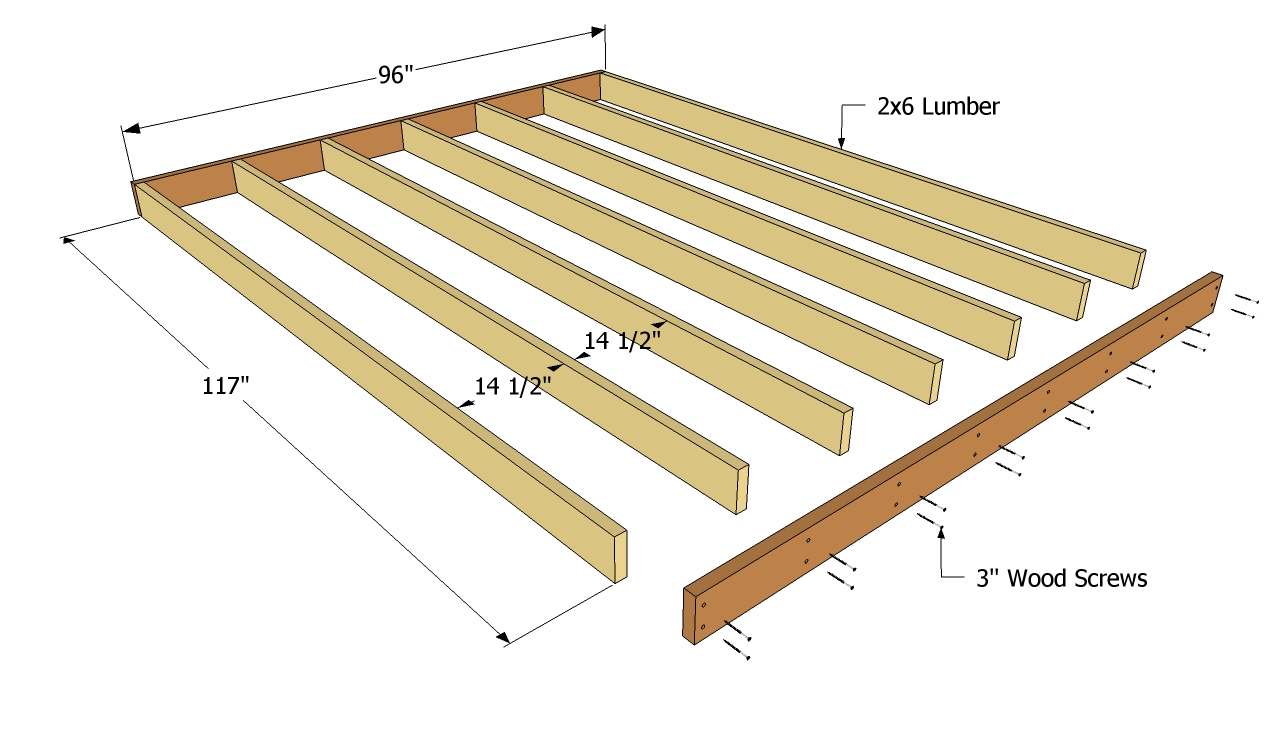 10 Deck Plans Shed Building 7 Capable A Floor Markthedev Inside Proportions 1280 X 731
