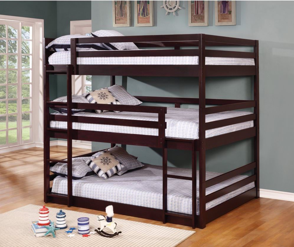 10 Types Of Triple Bunk Beds Plus 25 Top Picks 2018 throughout size 996 X 839