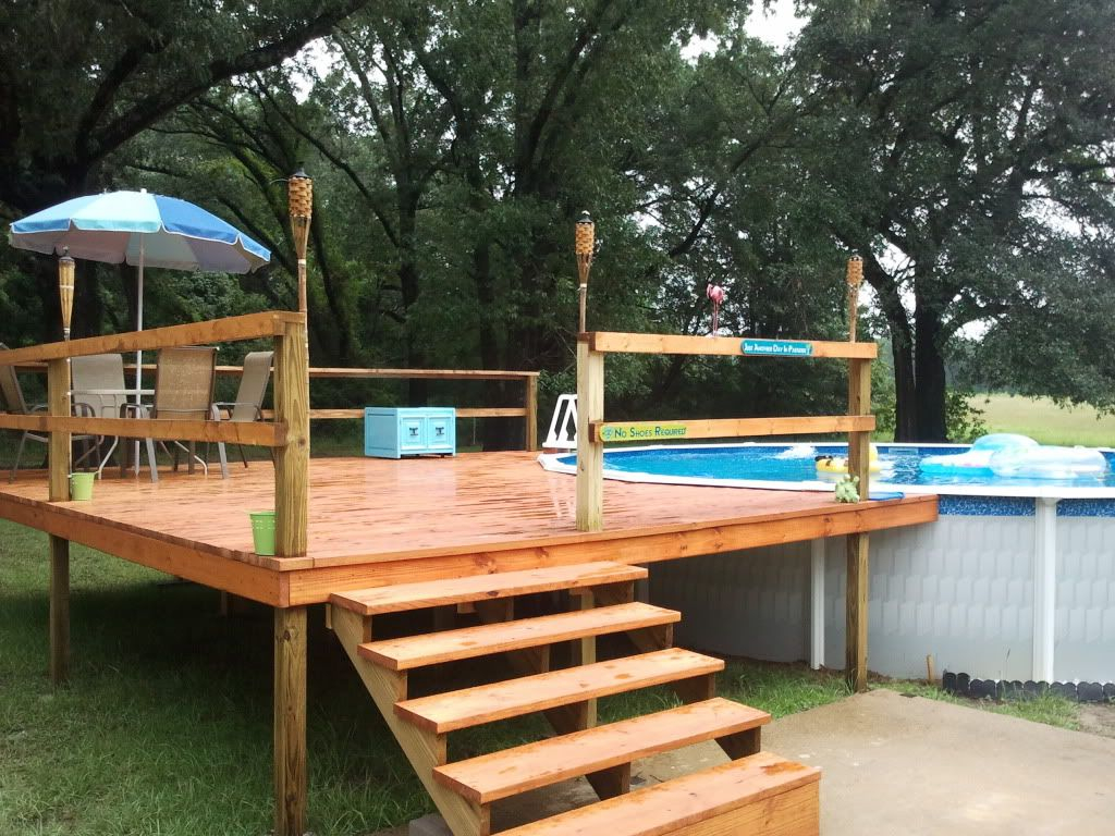 21 The Best Above Ground Pools With Decks Design And Ideas Free Throughout Dimensions 1024 X