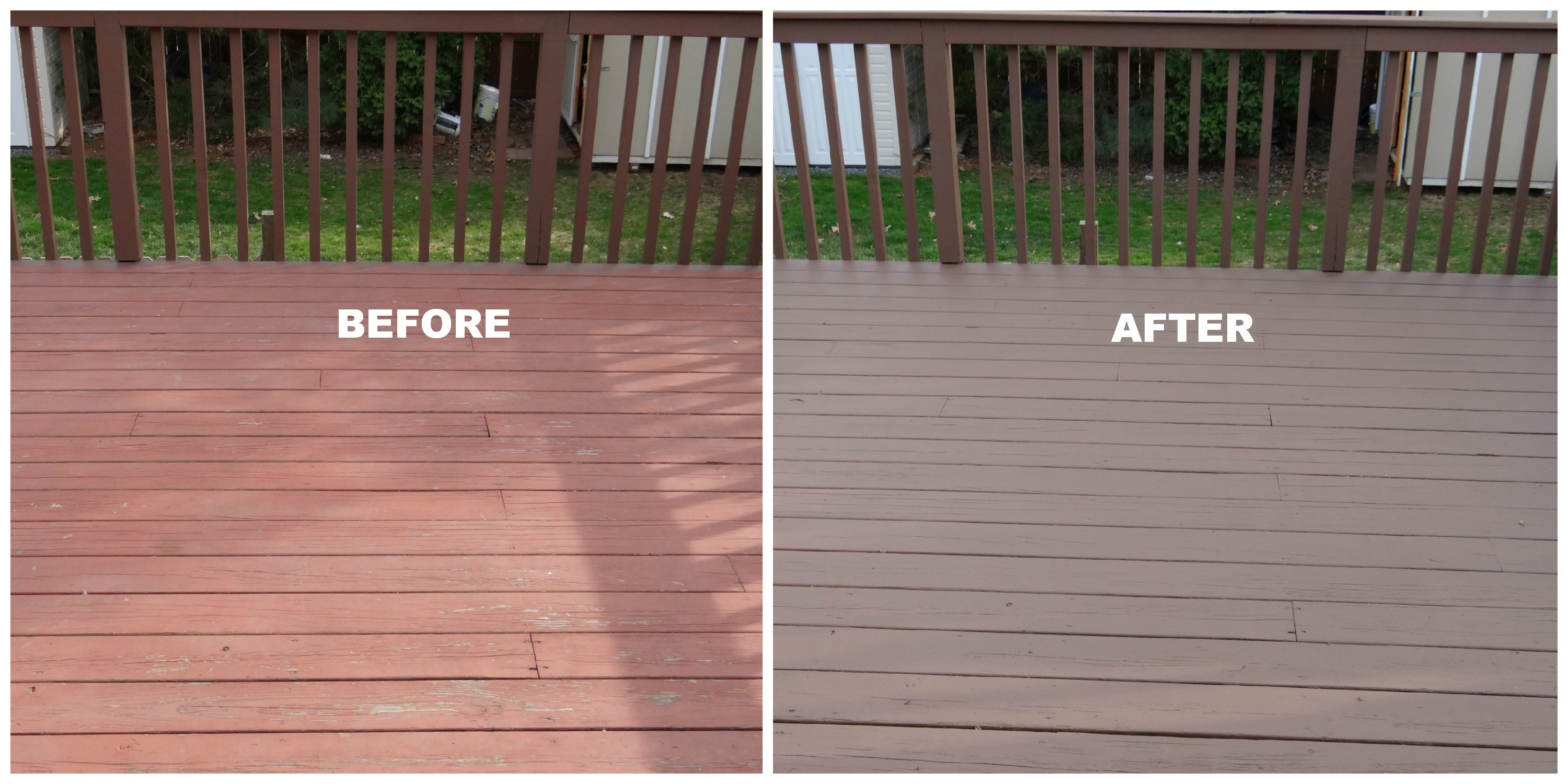 5 Things We Realize From Repainting Deck Beauteeful Living With Regard To Proportions 3000 X 1500