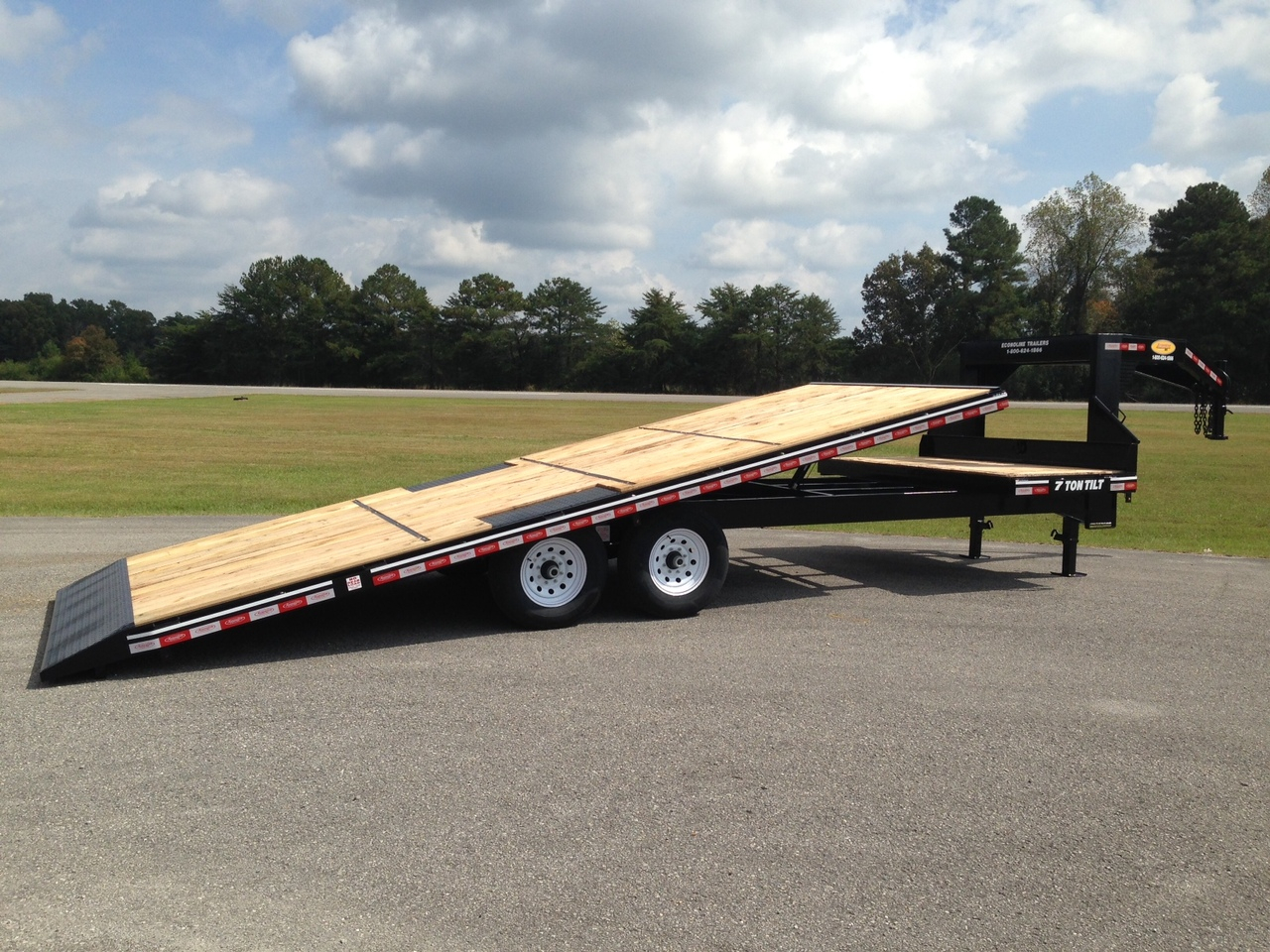 Tilt Deck Over Gooseneck Trailer Decks Ideas