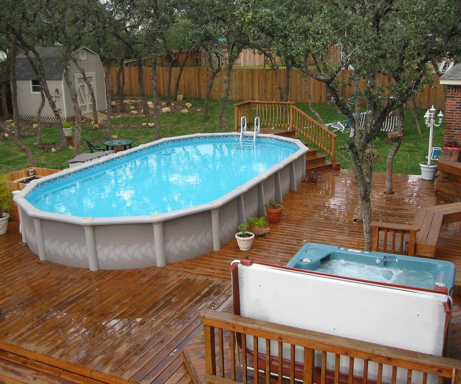 Above Ground Pool Deck Ideas Collection Also Outstanding Swimming Inside Size 1600 X 1333