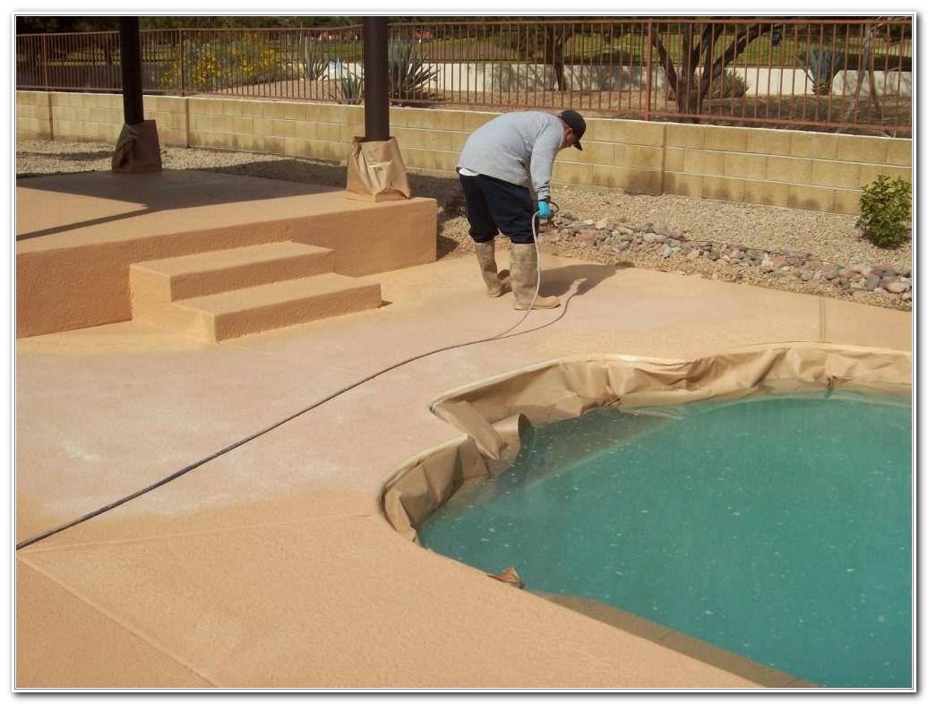Acrylic Pool Deck Paint Decks Home Decorating Ideas 6d2wym1r7n for measurements 1036 X 786