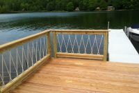 Awesome Cantilevered Deck And Nautical Railing House And Home with regard to sizing 2592 X 1936