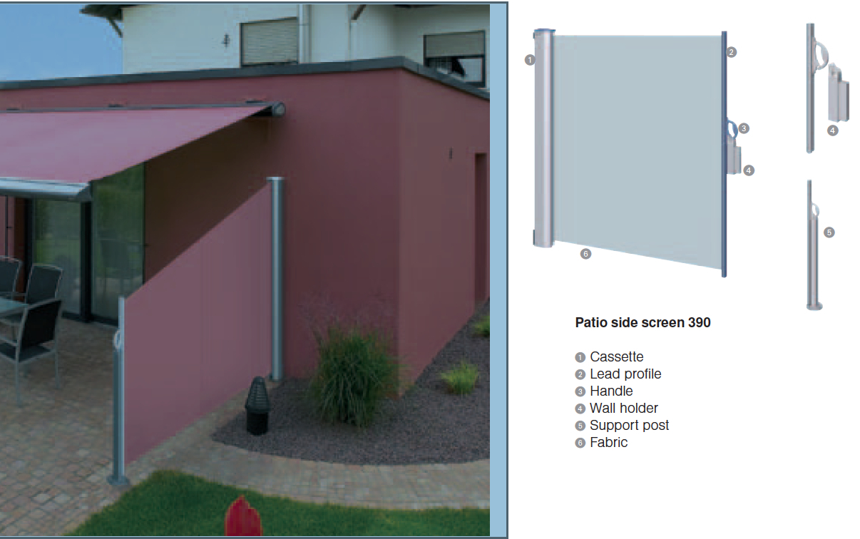 Gentil Awesome Retractable Patio Screen Lovely Patio Wind Screens 4 Side  Pertaining To Measurements 1206 X 756