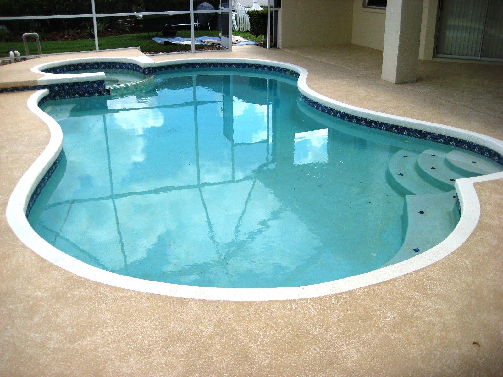 Swimming Pool Cool Deck Colors Decks Ideas