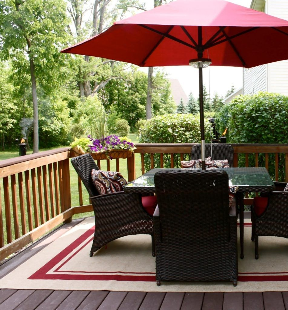 Best Outdoor Rug Wood Deck Gallery Images Of Pertaining To Sizing 951 X 1024