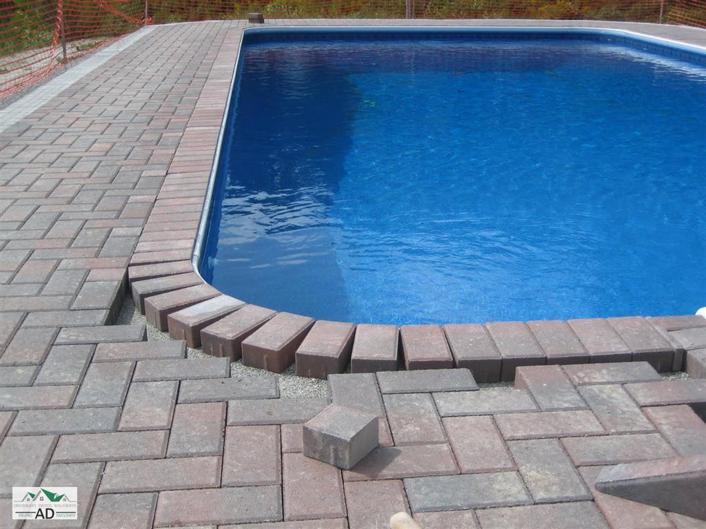 Brick Pavers Over Concrete Pool Deck Decks Ideas In Size 1024 X 768