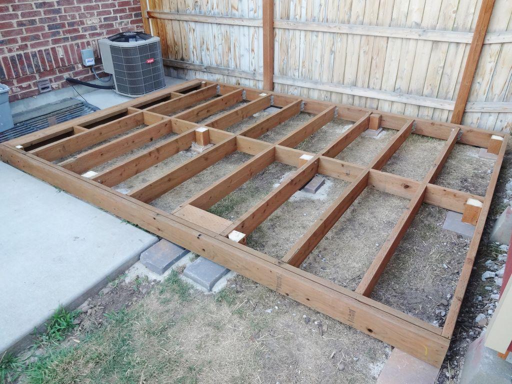 12x12 floating deck plans decks ideas