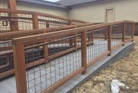 Built Hog Wire Fence Panels Capricornradio Homescapricornradio Homes for size 1030 X 773