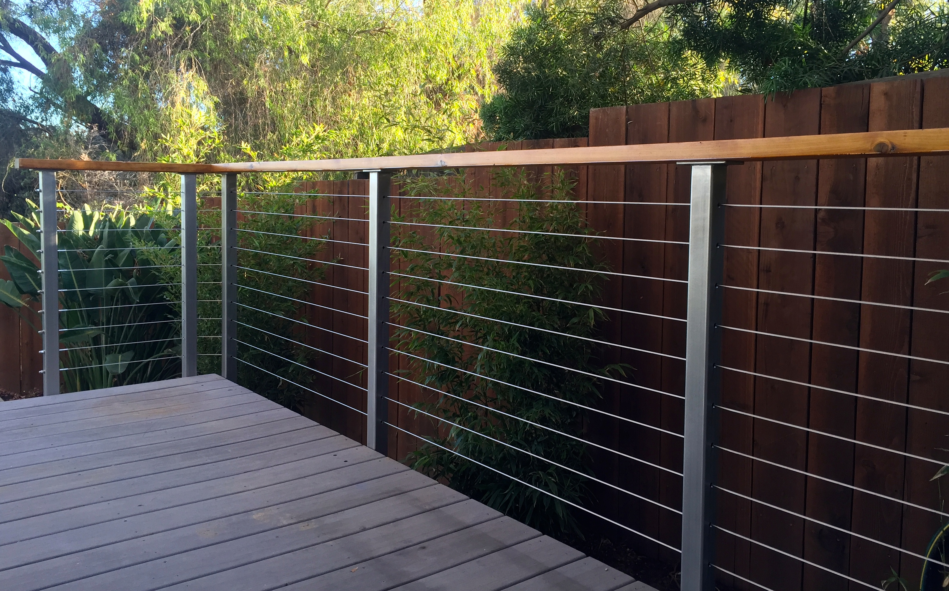 Metal Deck Posts For Cable Railing Decks Ideas