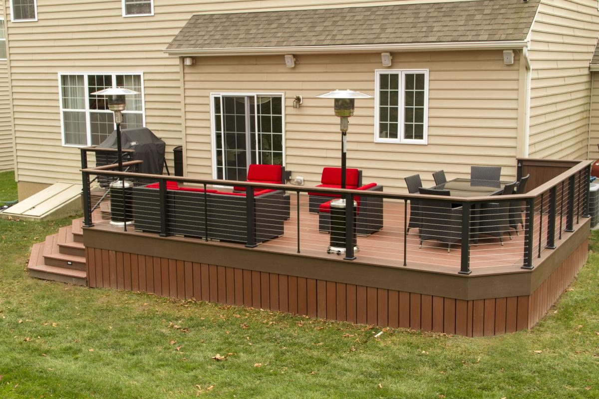 Cable Railing Decks R Us pertaining to proportions 1200 X 800