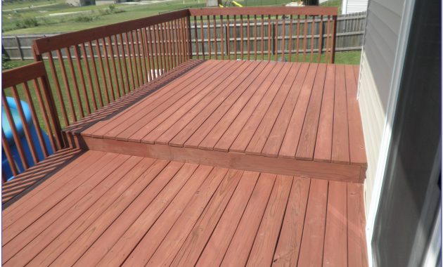 White Deck Stain Ideas