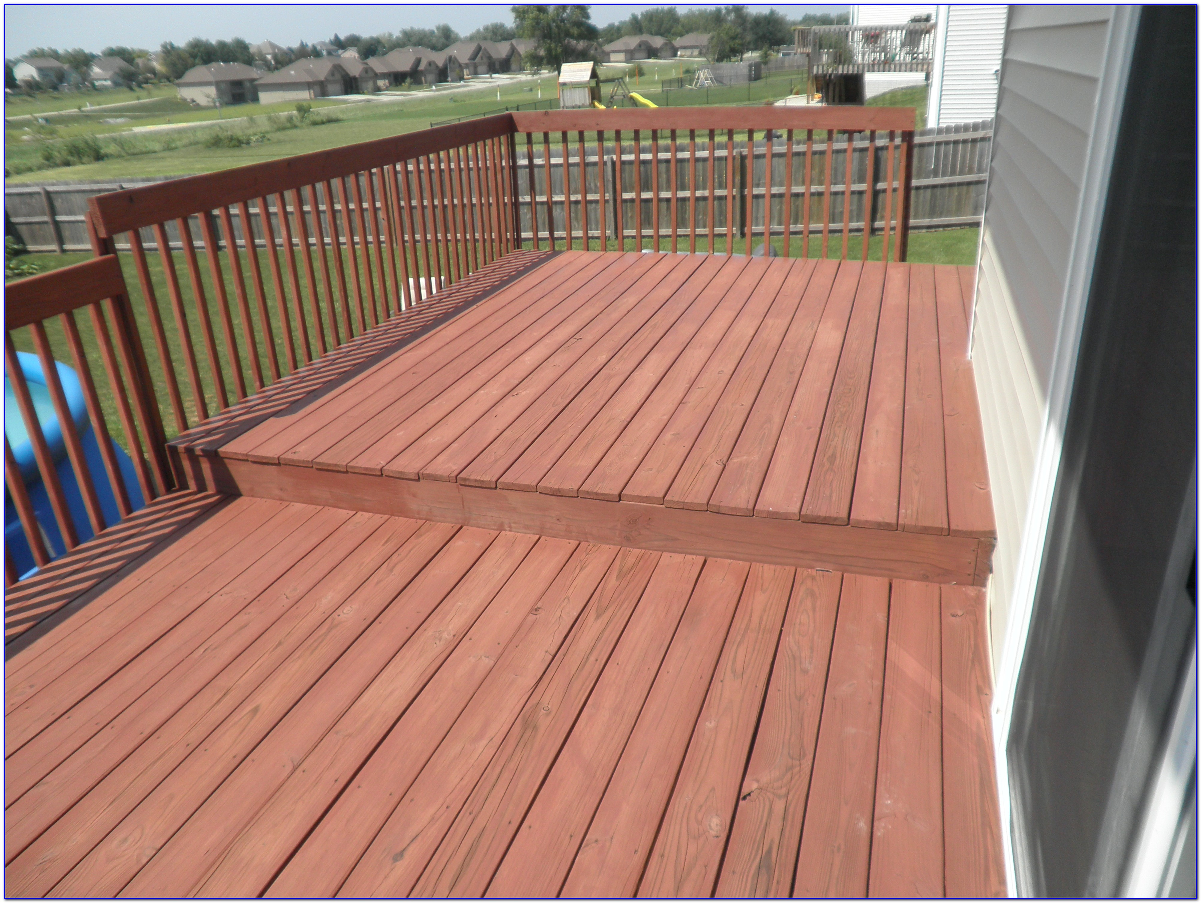 best stain for new redwood deck decks ideas. Black Bedroom Furniture Sets. Home Design Ideas