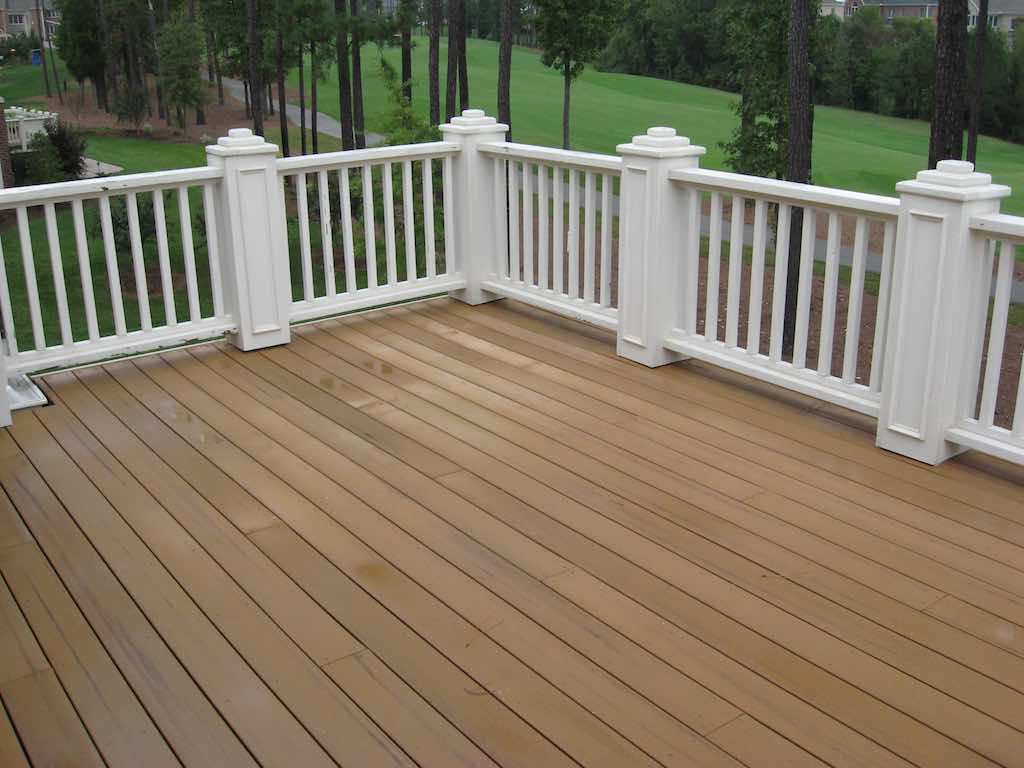 Can You Stain Composite Decking Trex Decking intended for size 1024 X 768
