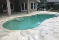 Concrete Designs Florida Flagstone And Travertine Tile Pool Deck in measurements 3264 X 2448
