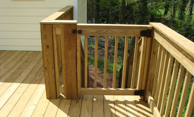 Simple Deck Railing Ideas