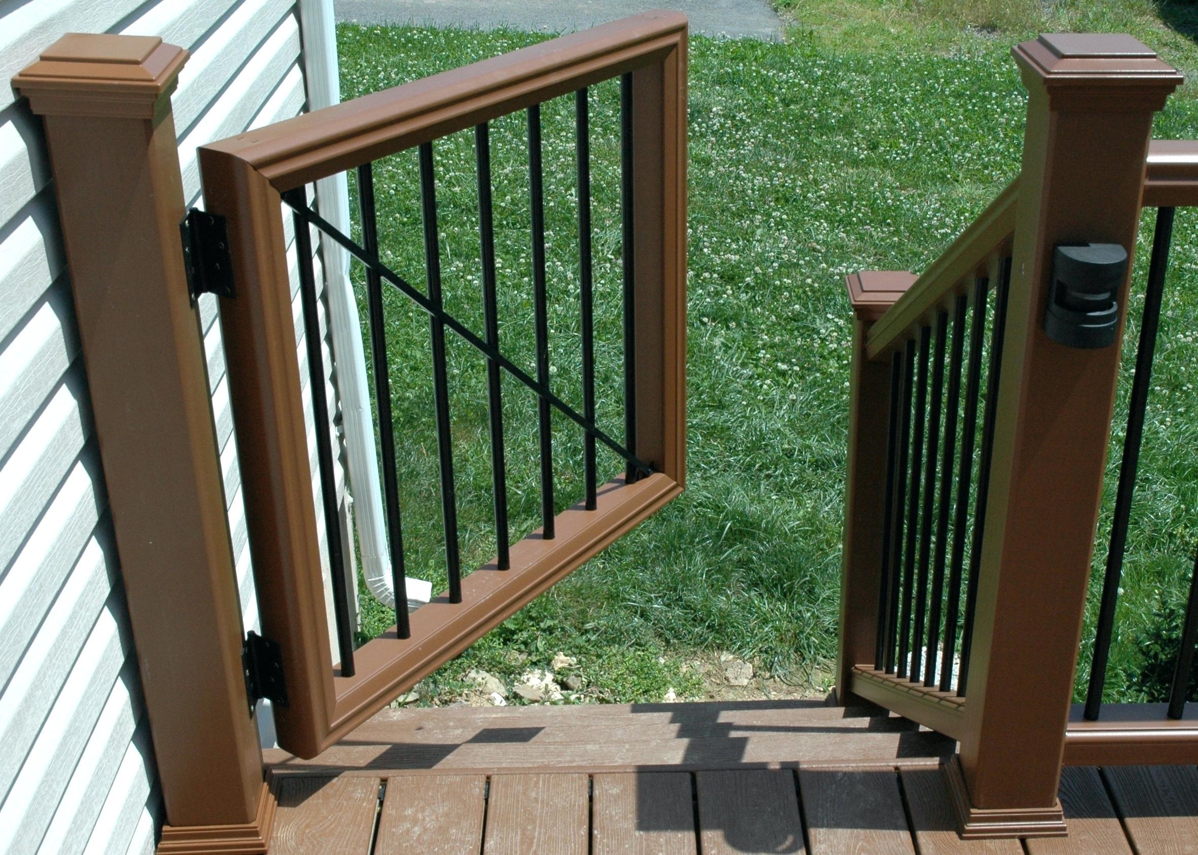 Veranda Deck Gate Kit Decks Ideas