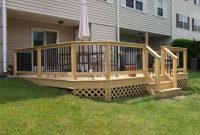 Deck Railing And Spindles Vinyl And Wood Deck Rails Decks R Us in measurements 1200 X 900