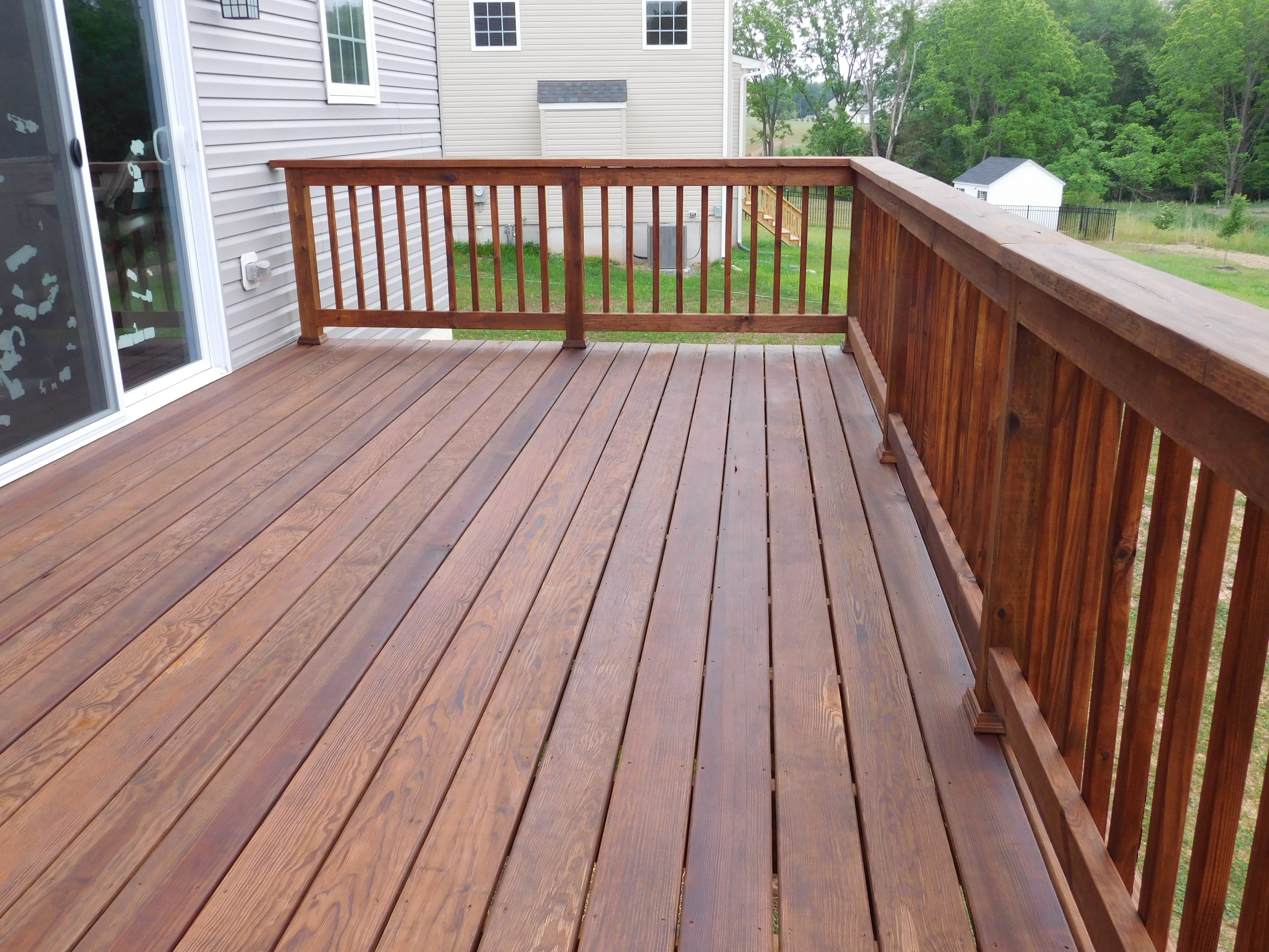 Deck Staining Royersford Deck Painting Sealing Washing with dimensions 4608 X 3456