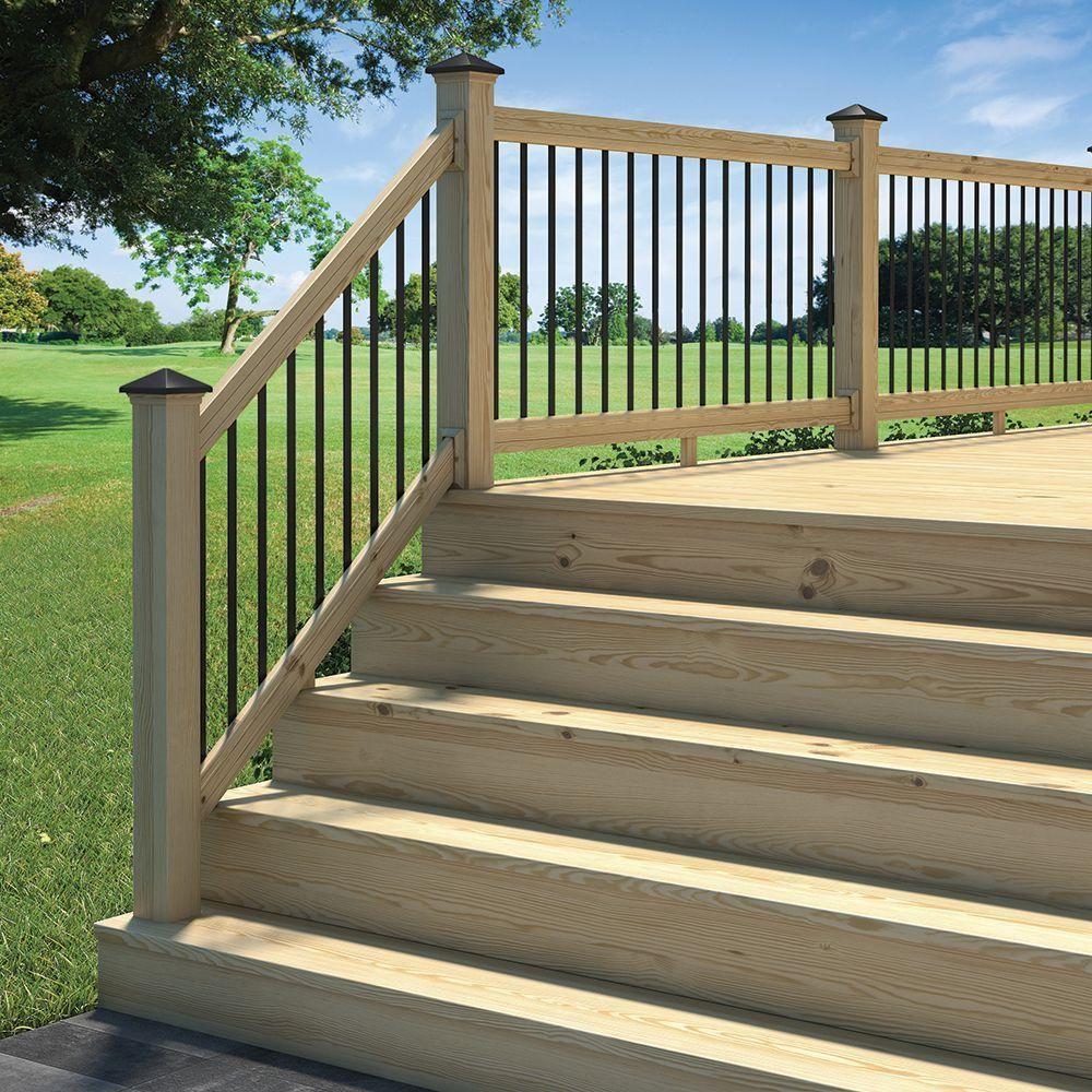 Pre Assembled Deck Stair Railing • Decks Ideas