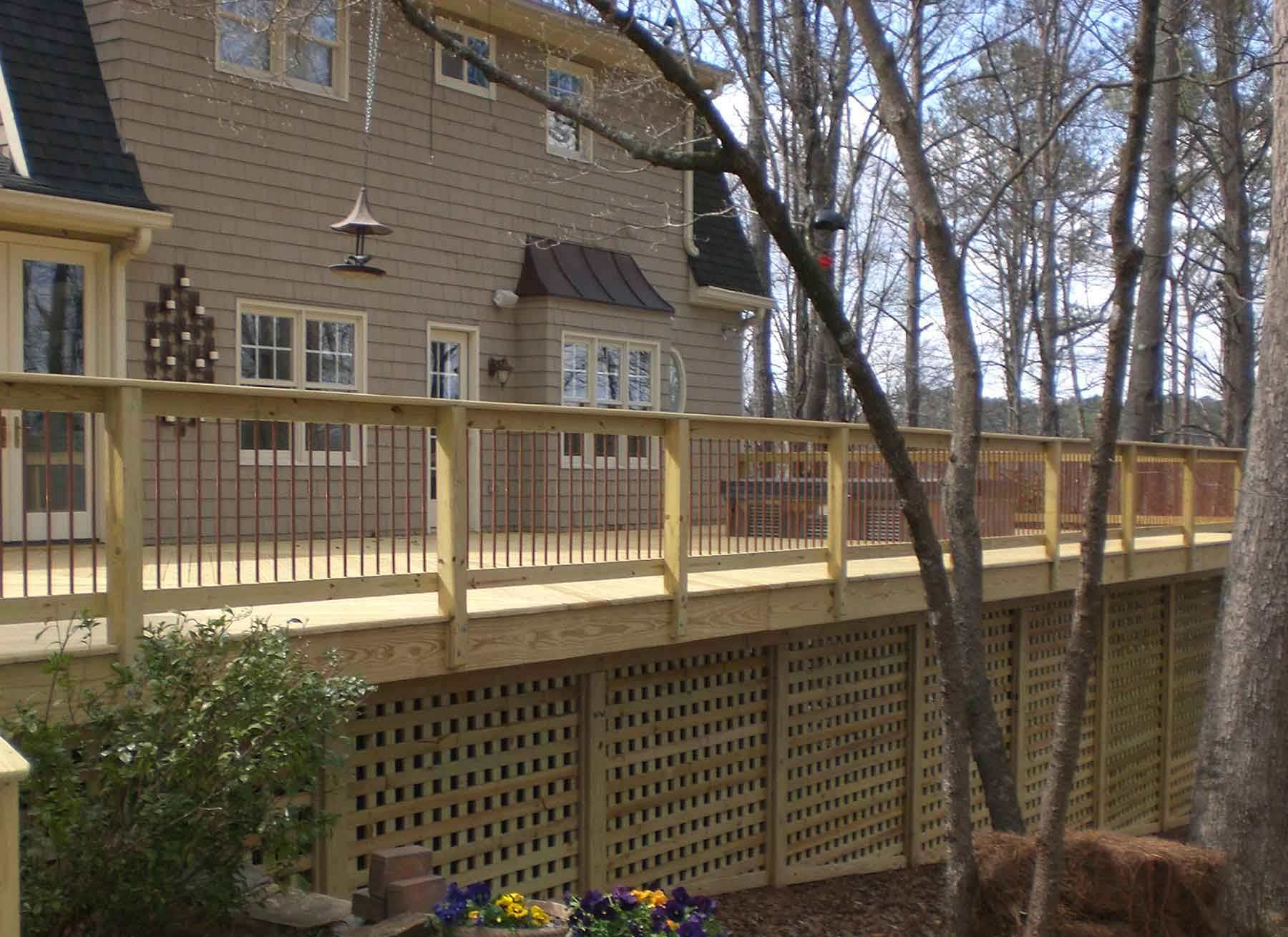 Decks And Fence Quality Construction with regard to sizing 1800 X 1310