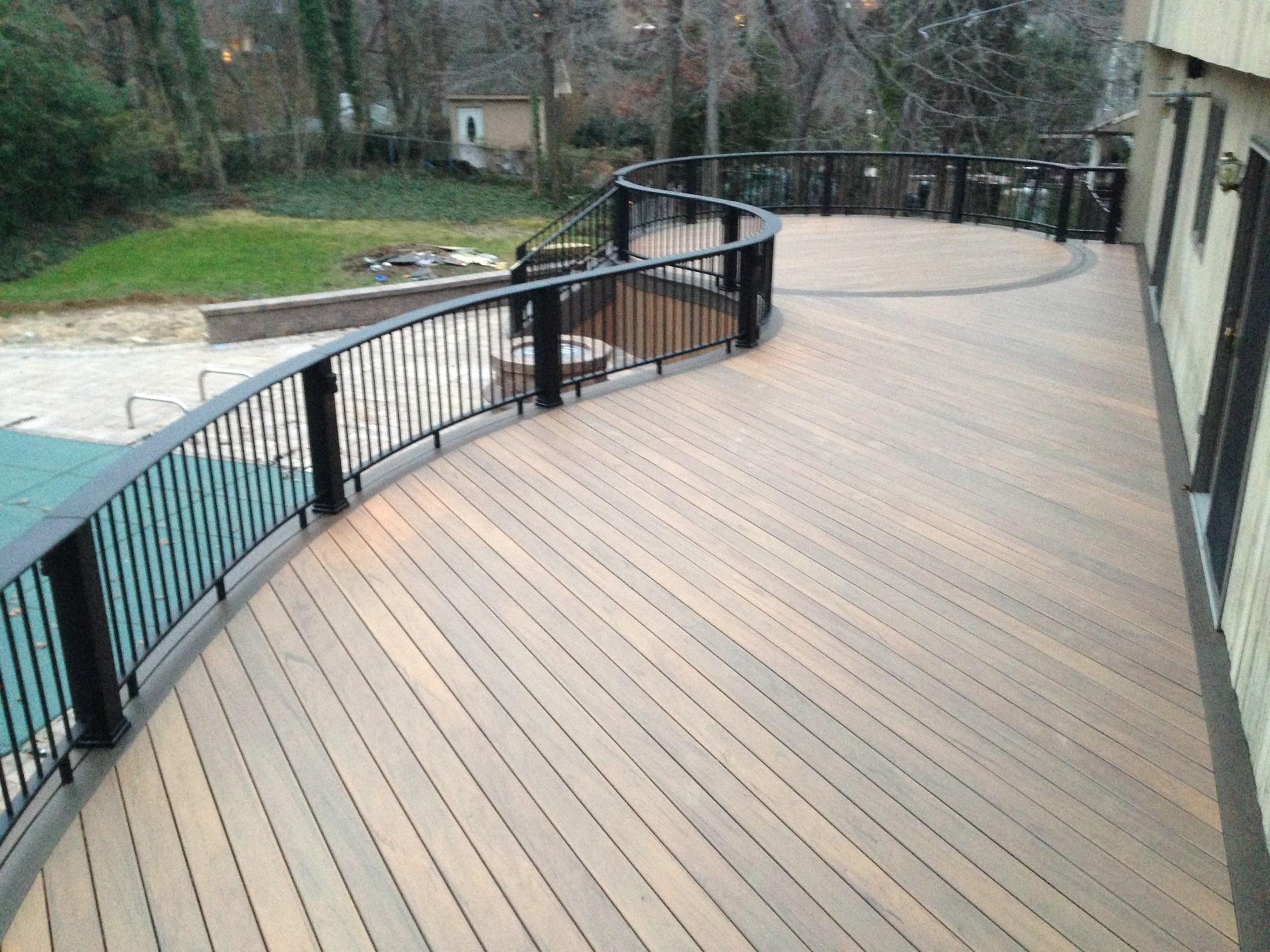 Synthetic Wood Decking Decks Ideas