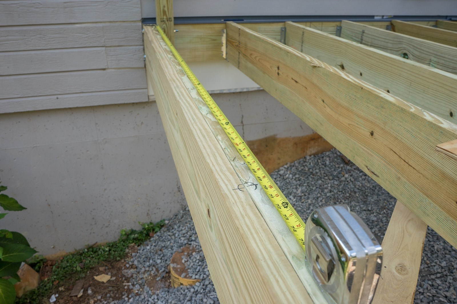 Attaching Posts To Deck Surface Decks Ideas