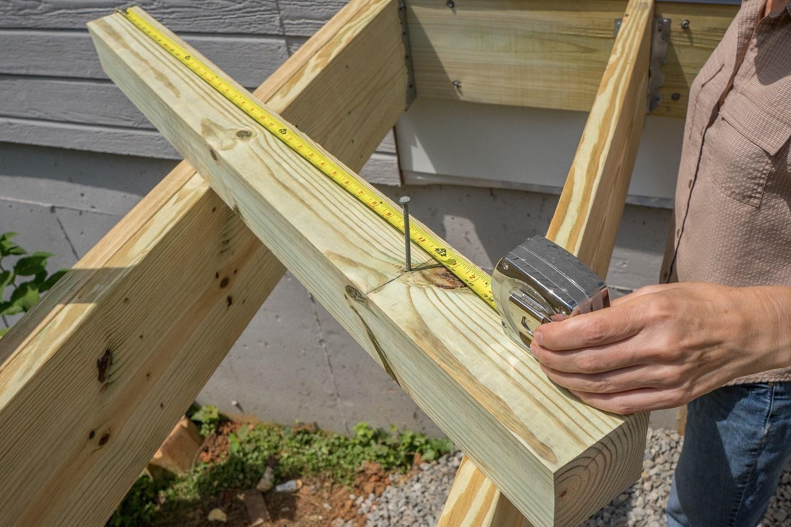 Deck Railing Post Attachment Decks Ideas