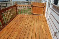 Defy Extreme Wood Stain In Cedartone On A Pressure Treated Deck with regard to sizing 3872 X 2592