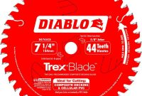 Diablo 7 14 In X 44 Tooth Trexcomposite Material Cutting Saw for dimensions 1000 X 1000