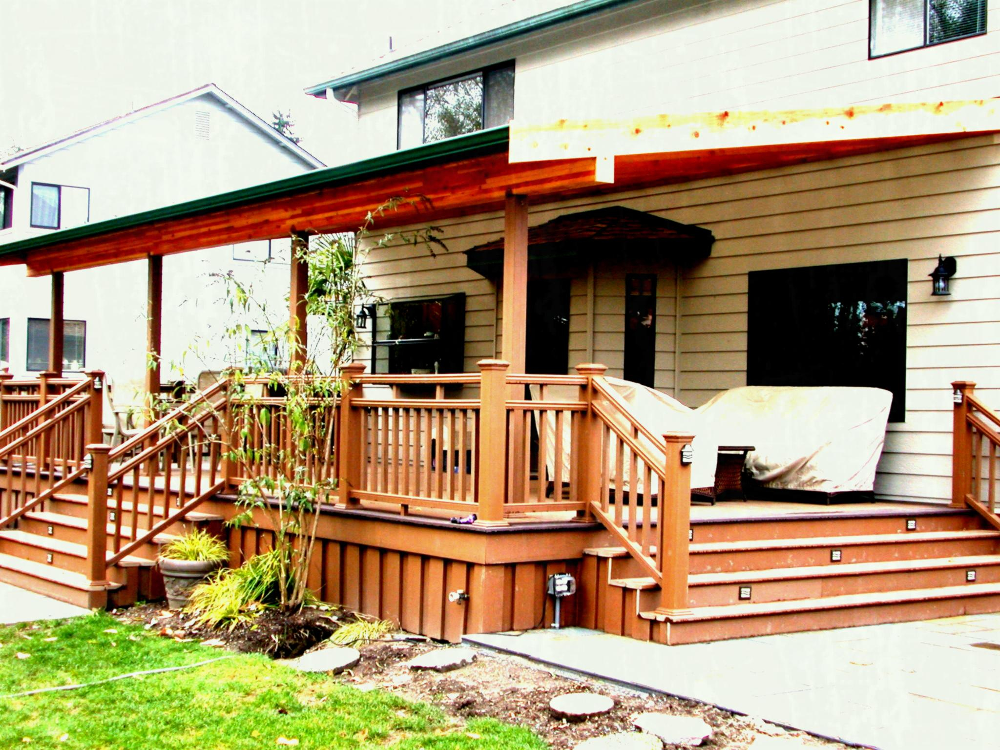 Different Deck Designs With Photos E Patio Design And Ideas Image Of Within  Size 2048 X