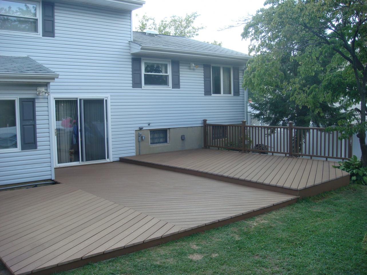 First Ground Level Deckneed Advice Please Decks Fencing with proportions 1283 X 962