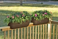 Flower Boxes For Porch Railings Deck Rail Planter Help Children within dimensions 2396 X 1603