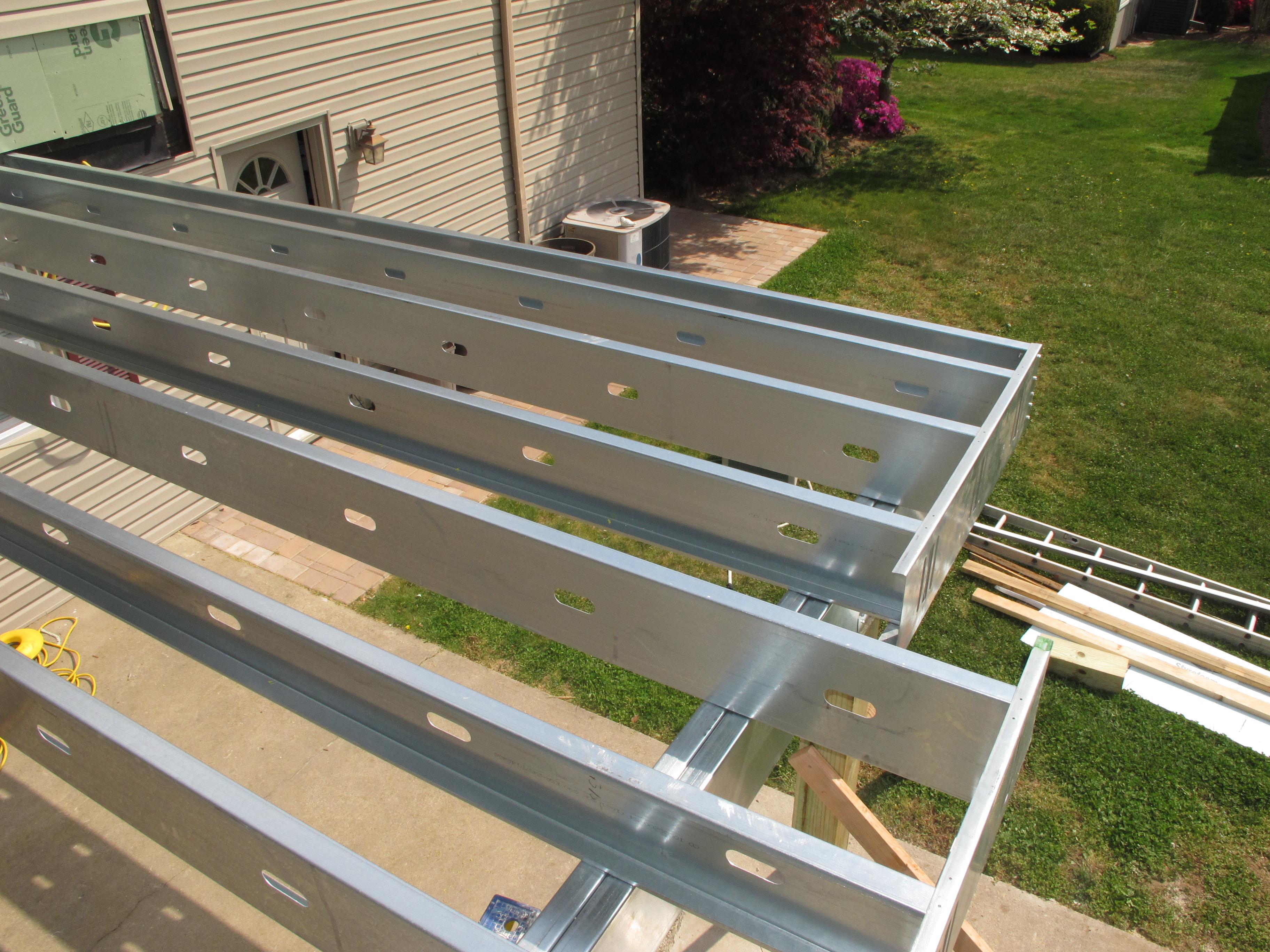 Metal Deck On Wood Joists Decks Ideas