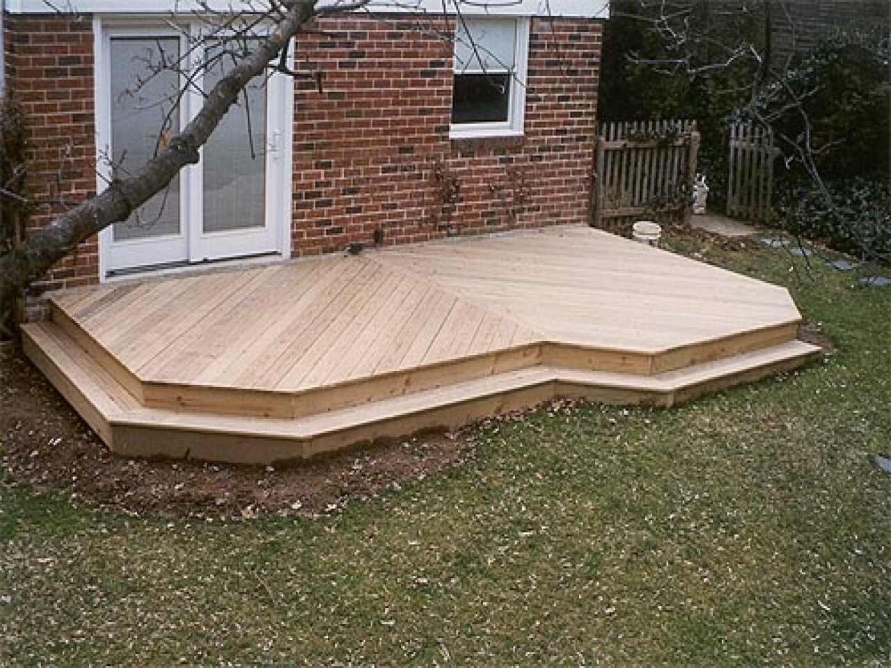 10x12 ground level deck plans • decks ideas