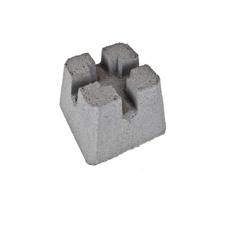 Headwaters 12 In X 8 In X 12 In Concrete Patio Pier Block for dimensions 1000 X 1000