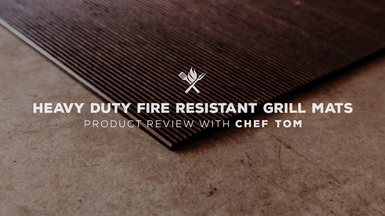 Heavy Duty Fire Resistant Grill Mat Product Roundup All Things within measurements 1280 X 720