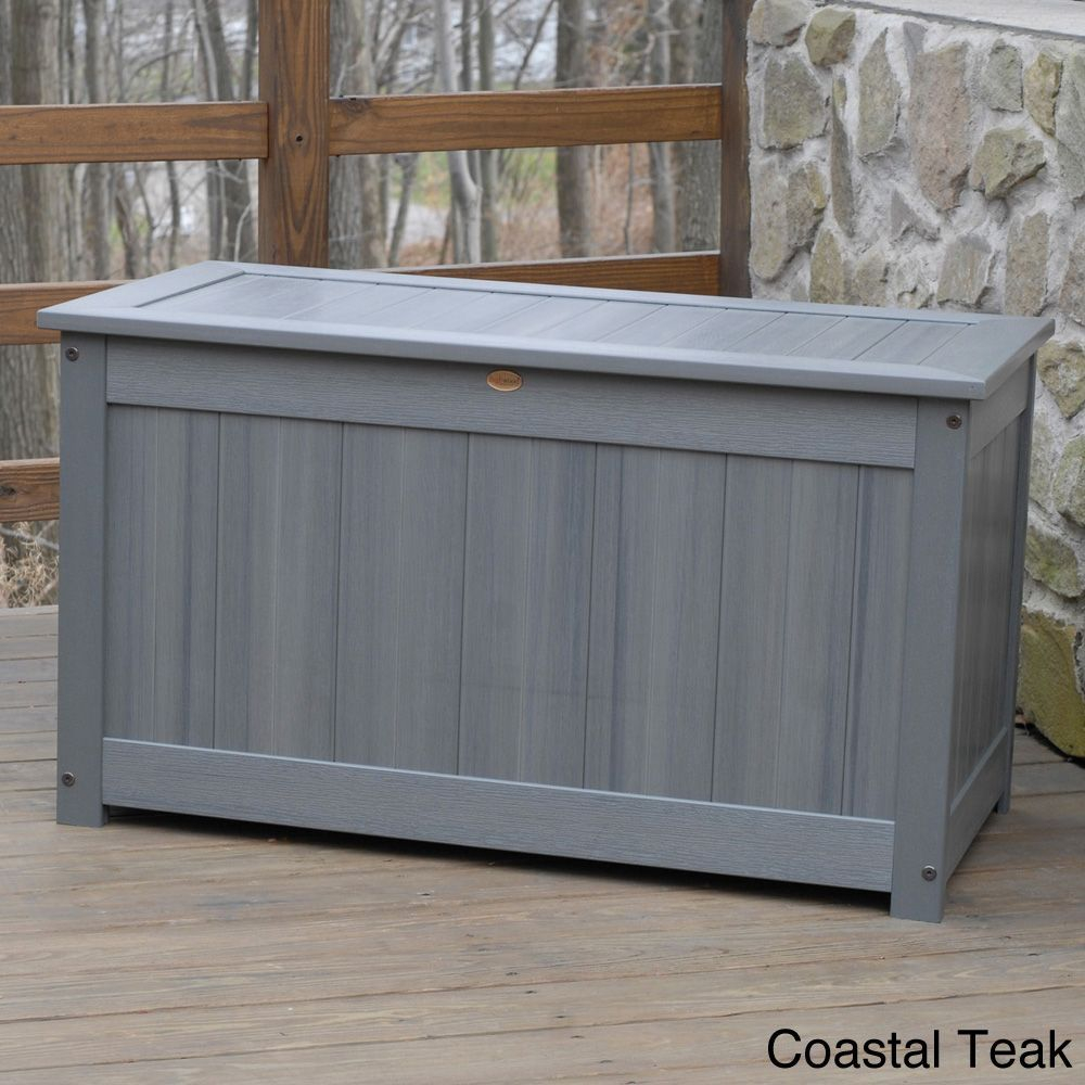 Superbe Highwood Eco Friendly Synthetic Wood Premium Deck Storage Deck Regarding  Size 1000 X 1000
