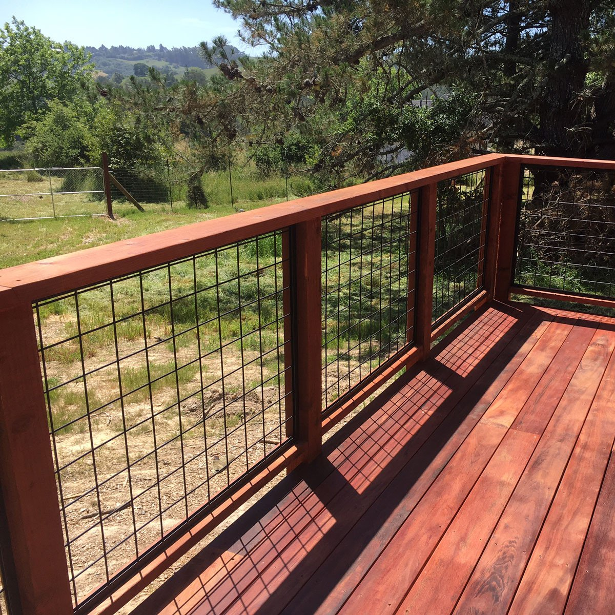 Cattle Panel Deck Railing Droughtrelief Org