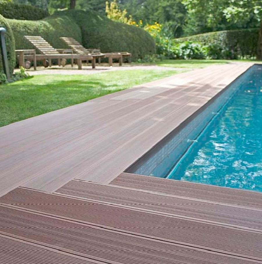 Hot To Build A Deck Around Above Ground Pool Wpc Decking Inside Dimensions 900 X 907