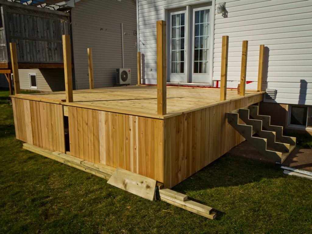 Inexpensive Deck Skirting Ideas