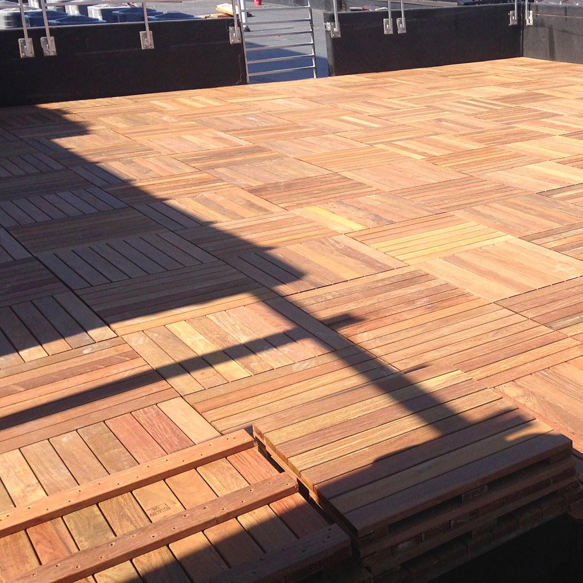 Ipe Deck Tiles Decks Ideas