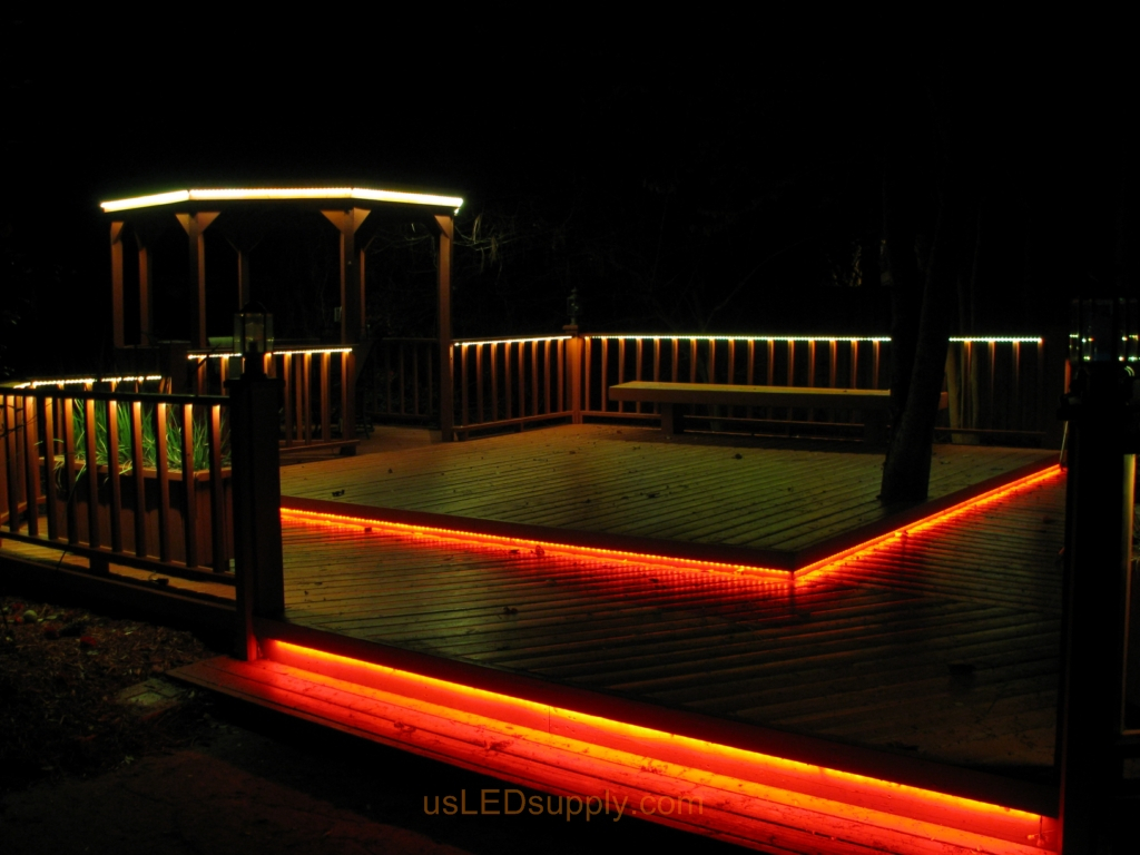 Led Deck Lighting 105 within proportions 1024 X 768