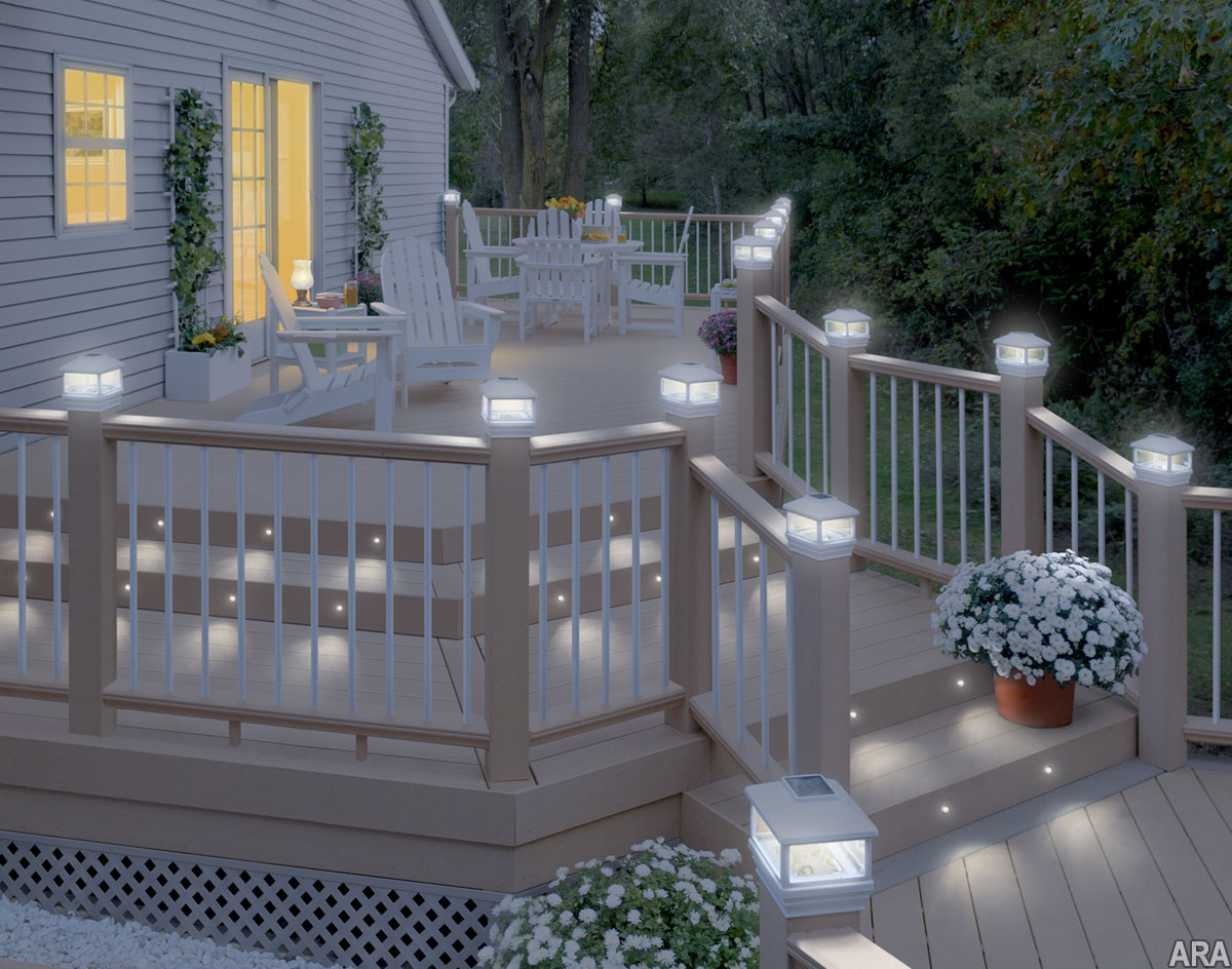 Led Deck Post Lights Led Deck Post Lights R Linkedlifes throughout dimensions 1200 X 944