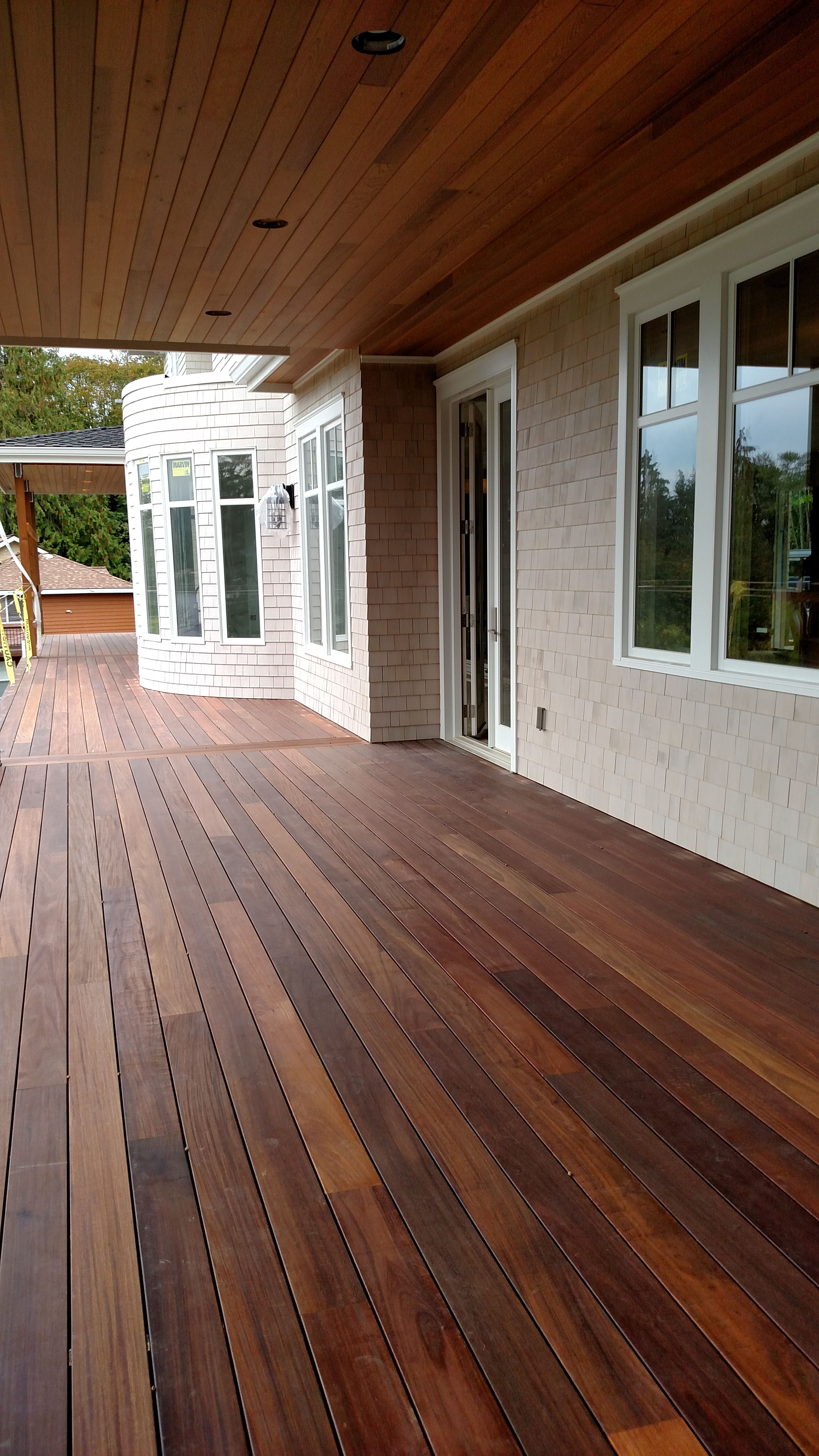 Mahogany Decking Applied With Penofin Exotic Hardwood Exterior Stain regarding size 2952 X 5248