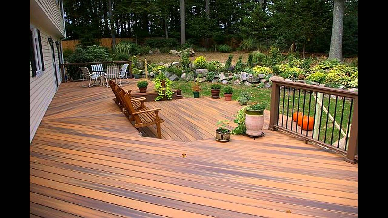 Cool Deck Stain Colors Decks Ideas
