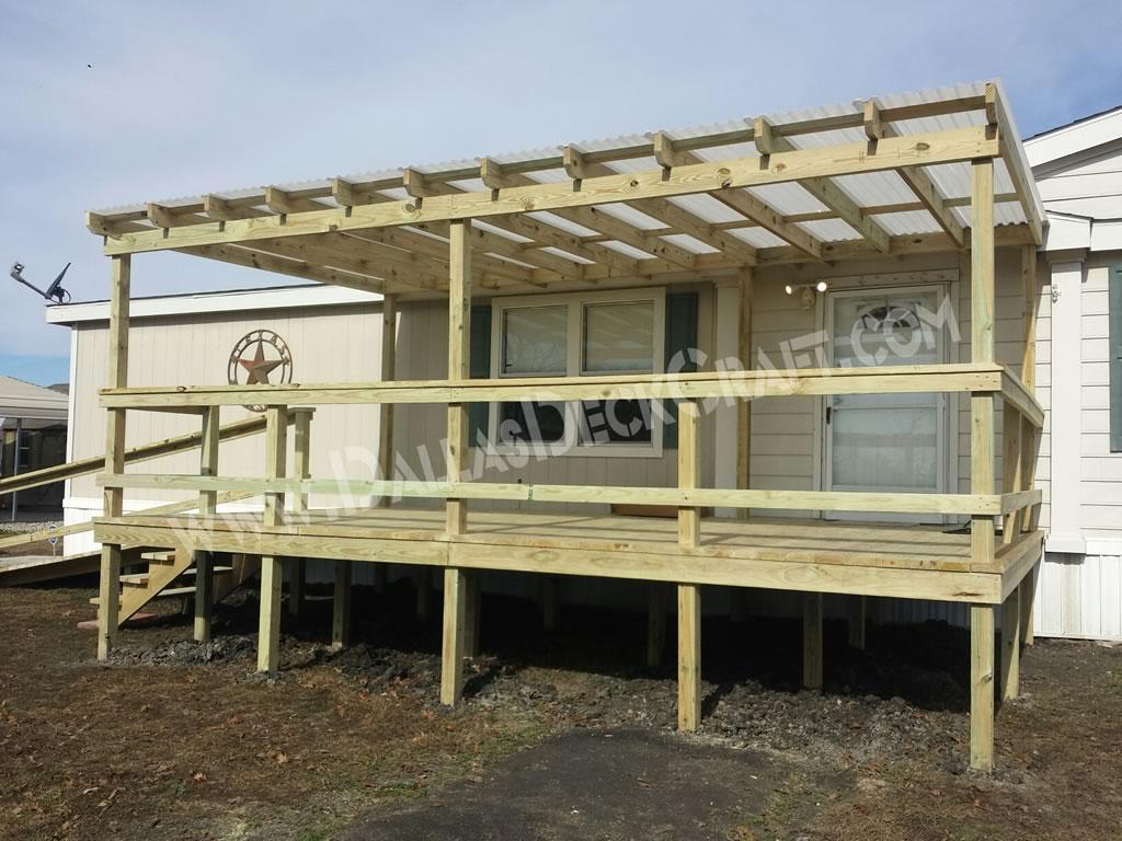 Porches And Decks For Mobile Homes • Decks Ideas