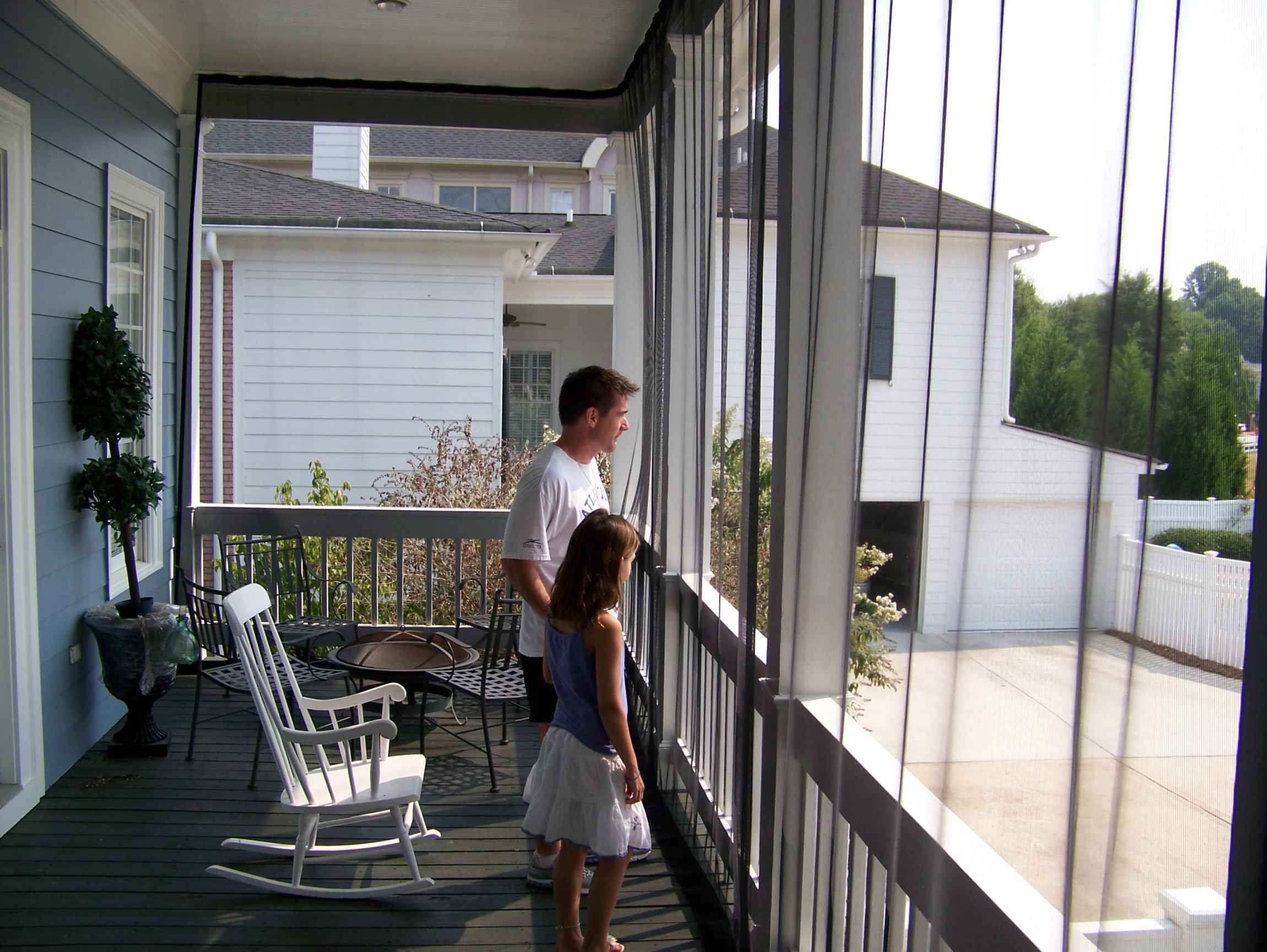 Mosquito Net For Covered Deck Decks Ideas