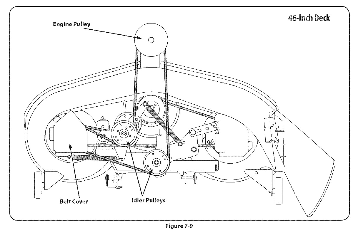 Bolens Riding Mower Belt Diagram Wiring Diagrams White Lawn Library Deck